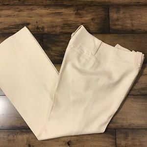 Ann Taylor Off White Pants